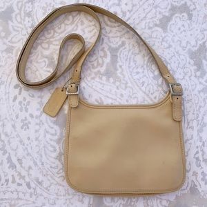 Vintage Coach Saddle Crossbody